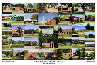 Virginia Wesleyan College >> Virginia Wesleyan College Campus Art Prints Photos Posters