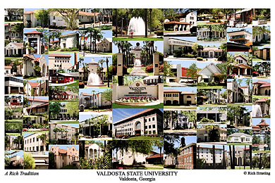 Valdosta State University Campus Art Prints Photos Posters