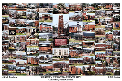 Western Carolina University Campus Art Prints Photos Posters