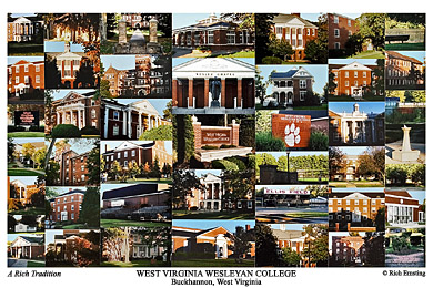 West Virginia Wesleyan College Campus Art Prints Photos