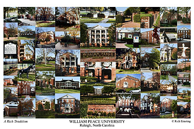 William Peace University Campus Art Prints Photos Posters