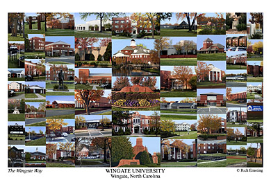 Wingate University Campus Art Prints Photos Posters