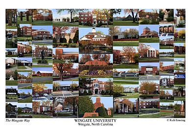 Wingate University Campus Art Prints Photos Posters