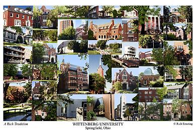 Wittenberg University Campus Art Prints Photos Posters