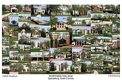 Wofford College Campus Art Prints Photos Posters