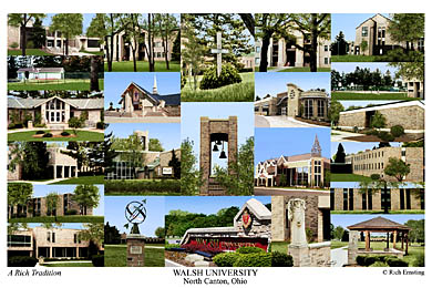 Walsh University Campus Art Prints Photos Posters