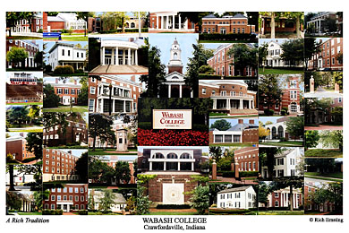Wabash College Campus Art Prints Photos Posters