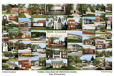 York College Of Pennsylvania Campus Art Prints Photos
