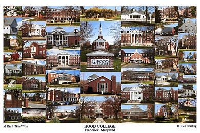 Hood College Campus Art Prints Photos Posters