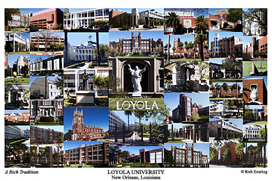 Loyola University New Orleans Campus Art Prints Photos