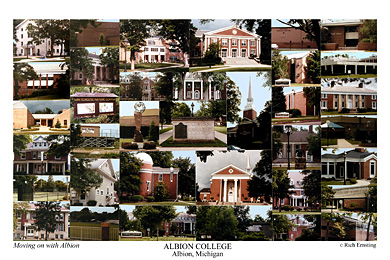 Albion College Campus Art Prints Photos Posters
