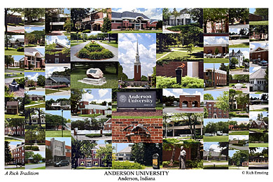 Anderson University Campus Art Prints Photos Posters