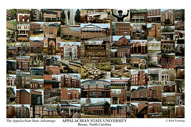 Appalachian State University Campus Art Prints Photos