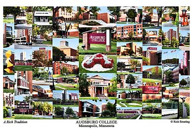 Augsburg College Campus Art Prints Photos Posters