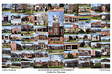 Austin Peay State University Campus Art Prints Photos