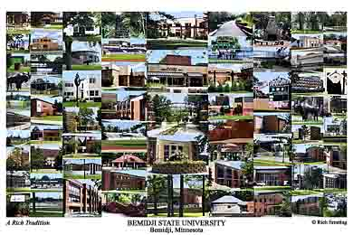 Bemidji State University Campus Art Prints Photos Posters