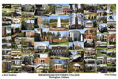 Birmingham Southern College Campus Art Prints Photos Posters
