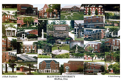 Bluffton University Campus Art Prints Photos Posters