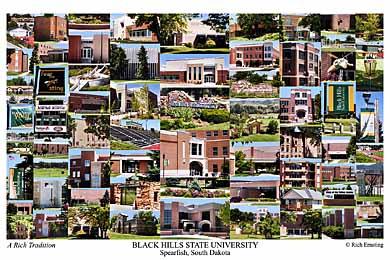 Black Hills State University Campus Art Prints Photos