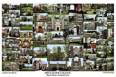 Bryn Mawr College Campus Art Prints Photos Posters