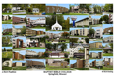 Baptist Bible College Campus Art Prints Photos Posters