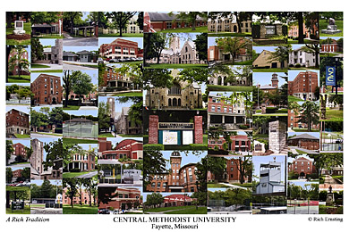 Central Methodist University Campus Art Prints Photos