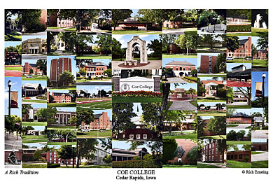 Coe College Campus Art Prints Photos Posters