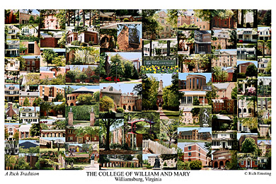 College Of William And Mary Campus Art Prints Photos Posters