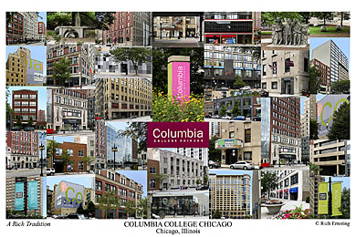Columbia College Chicago Campus Art Prints Photos Posters