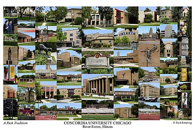 Concordia University Chicago Campus Art Prints Photos