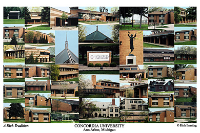 Concordia University Ann Arbor Campus Art Prints Photos