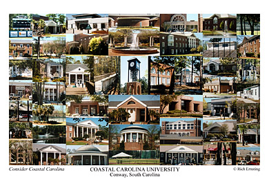 Coastal Carolina University Campus Art Prints Photos Posters