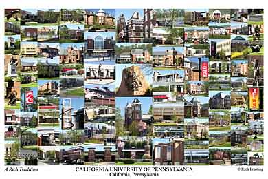 California University Of Pa Campus Art Prints Photos Posters