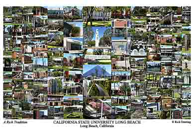 California State University Long Beach Campus Art Prints