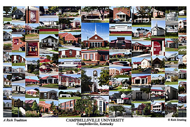 Campbellsville University Campus Art Prints Photos Posters