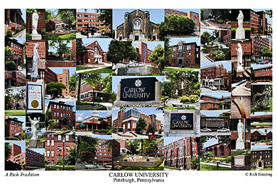 Carlow University Campus Art Prints Photos Posters