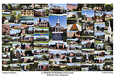 Carson Newman College Campus Art Prints Photos Posters