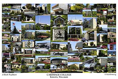 Carthage College Campus Art Prints Photos Posters