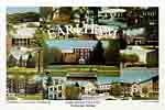 Earlham College Campus Art Print
