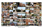 Johns Hopkins University Campus Art Print