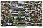 Kutztown University of Pennsylvania Campus Art Print