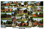 Rose-Hulman Institute of Technology Campus Art Print