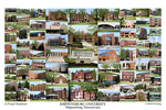 Shippensburg University Campus Art Print