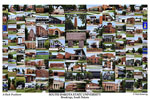 South Dakota State University Campus Art Print