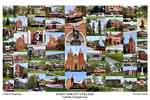 Saint Vincent College Campus Art Print
