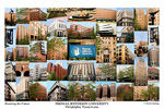 Thomas Jefferson University Campus Art Print