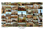 Troy University Campus Art Print