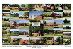 Virginia Wesleyan College Campus Art Print