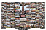 Western Carolina University Campus Art Print
