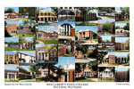 West Liberty State College Campus Art Print